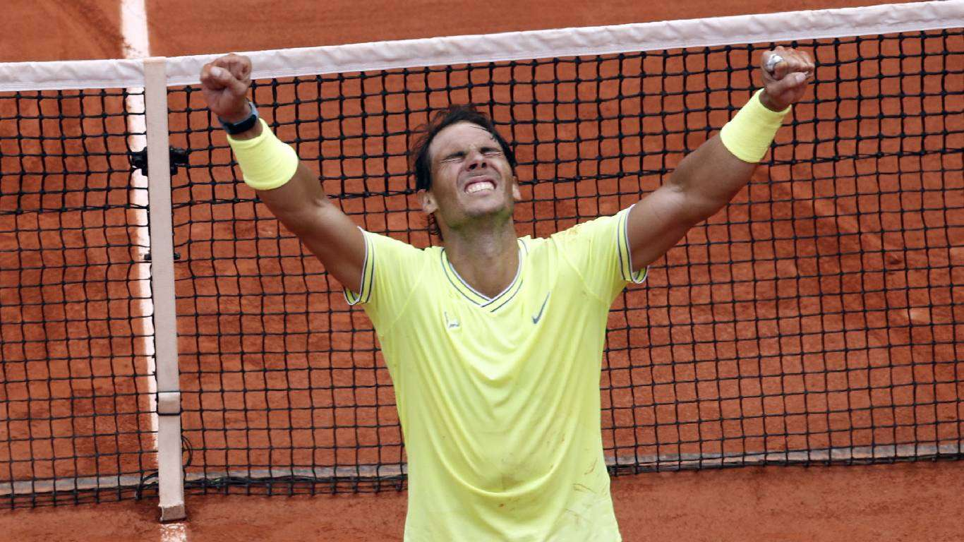 Nadalu Roland Garros