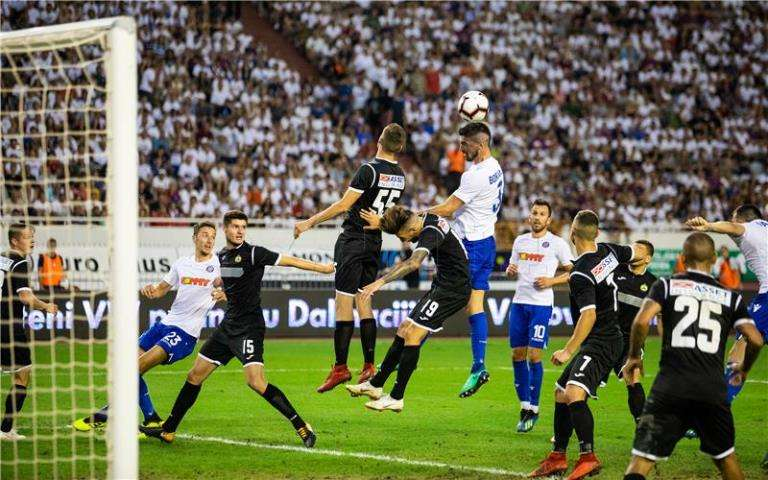 Hajduk - Slavia 1-0
