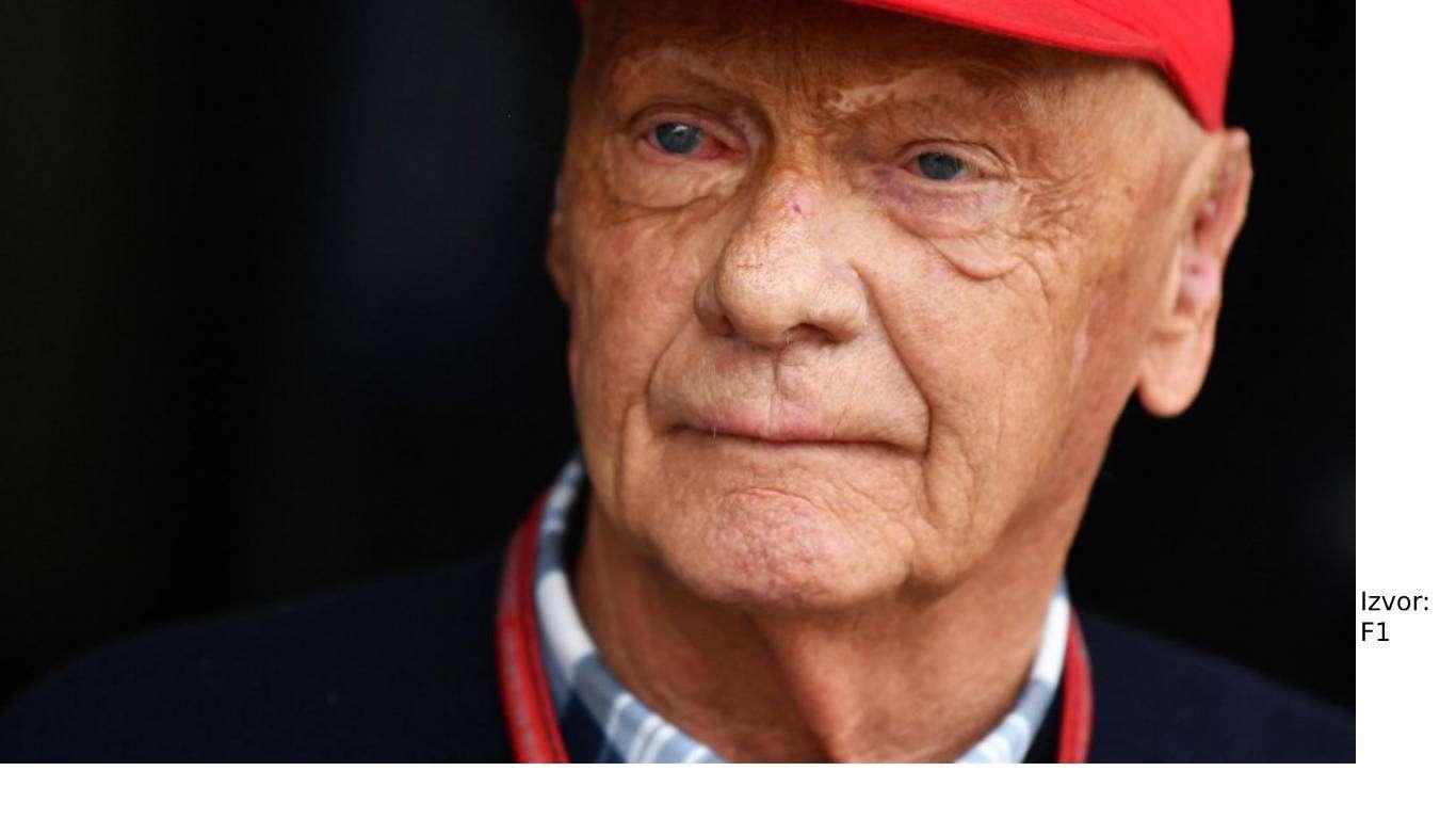 Preminuo veliki Niki Lauda