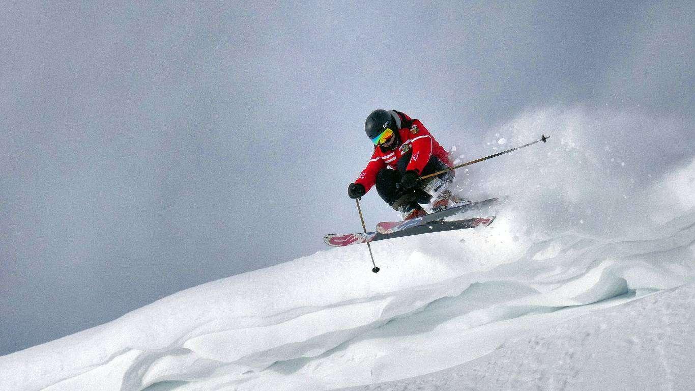 Slobodno skijanje Verbier,  magazin