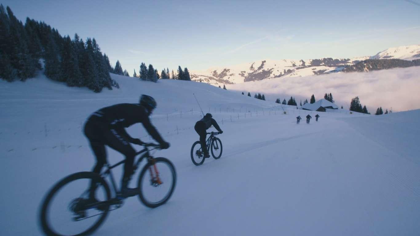 Snow Bike Festival Gstad 2019