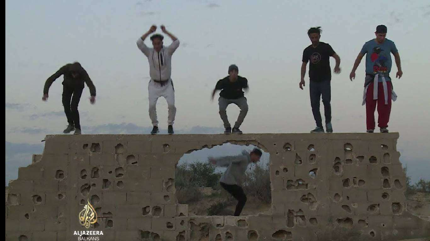 Parkour u Gazi