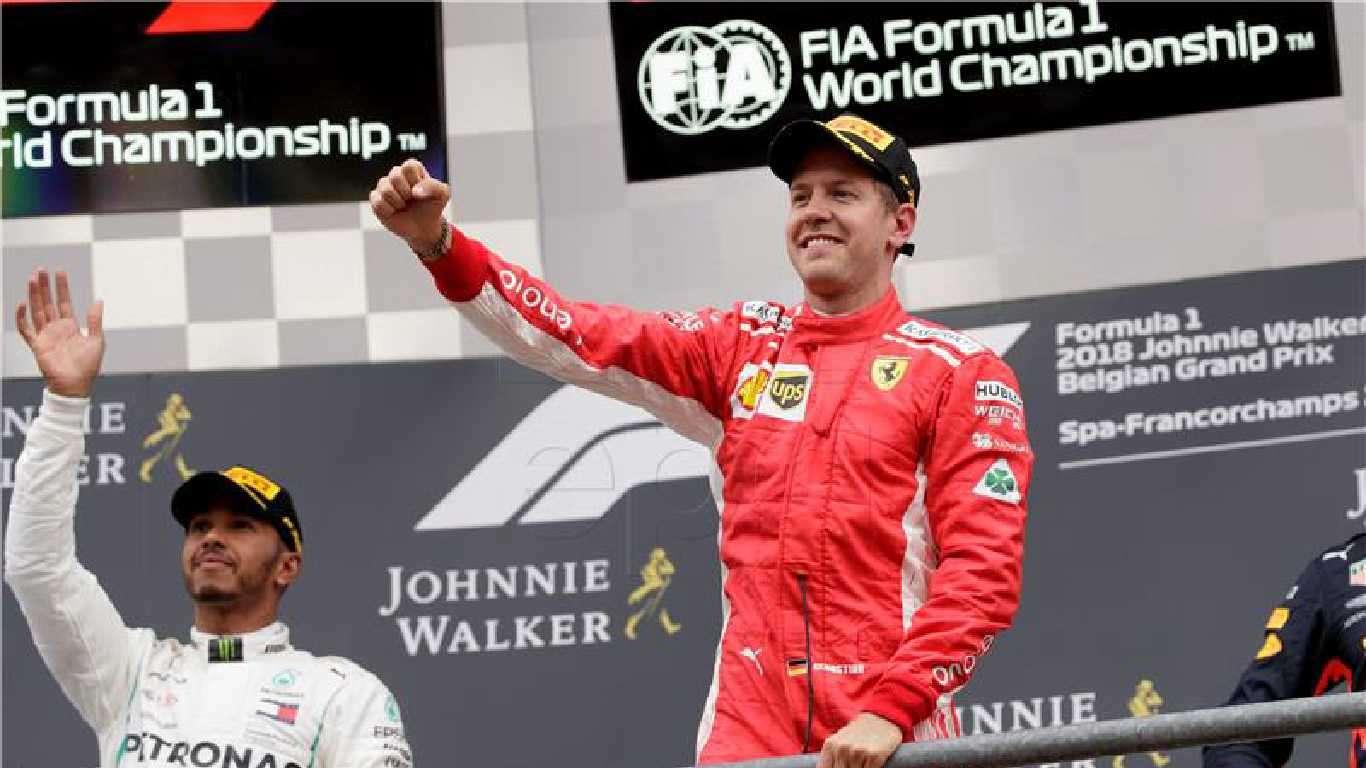Vettelu VN Belgije