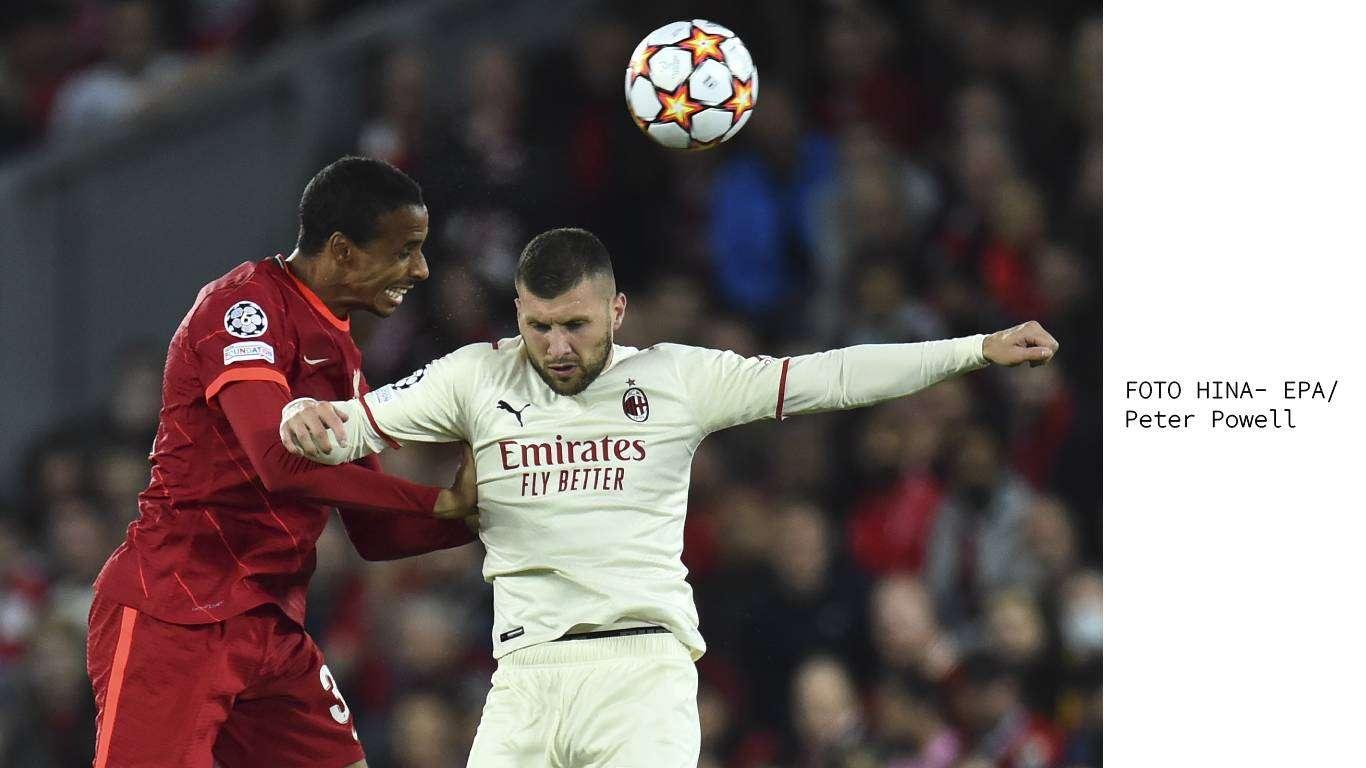 Rebić zabio, Milan pao na Anfieldu