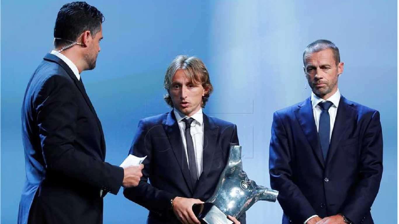 Modrić najbolji igrač Europe