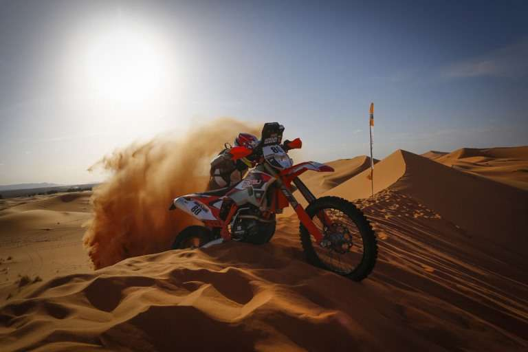 Merzouga rally, magazin