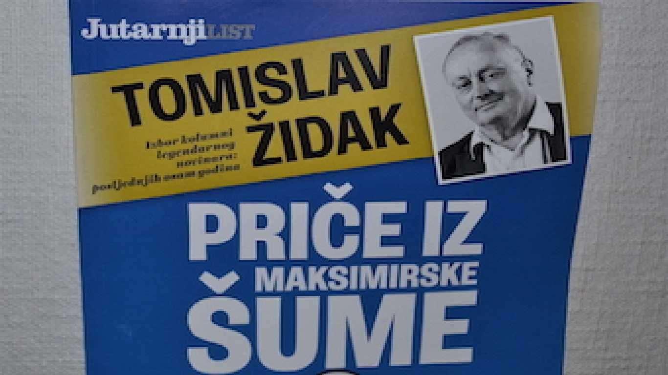 Druga knjiga kolumni sportskog novinara Tomislava Židaka