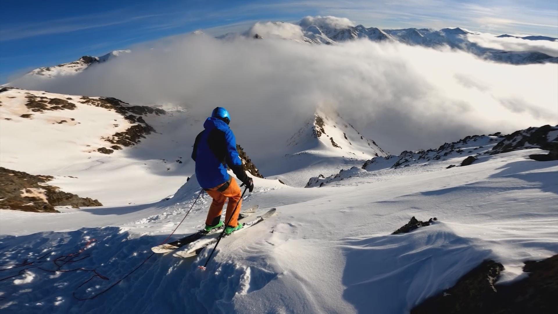 Slobodno skijanje Fieberbrunn