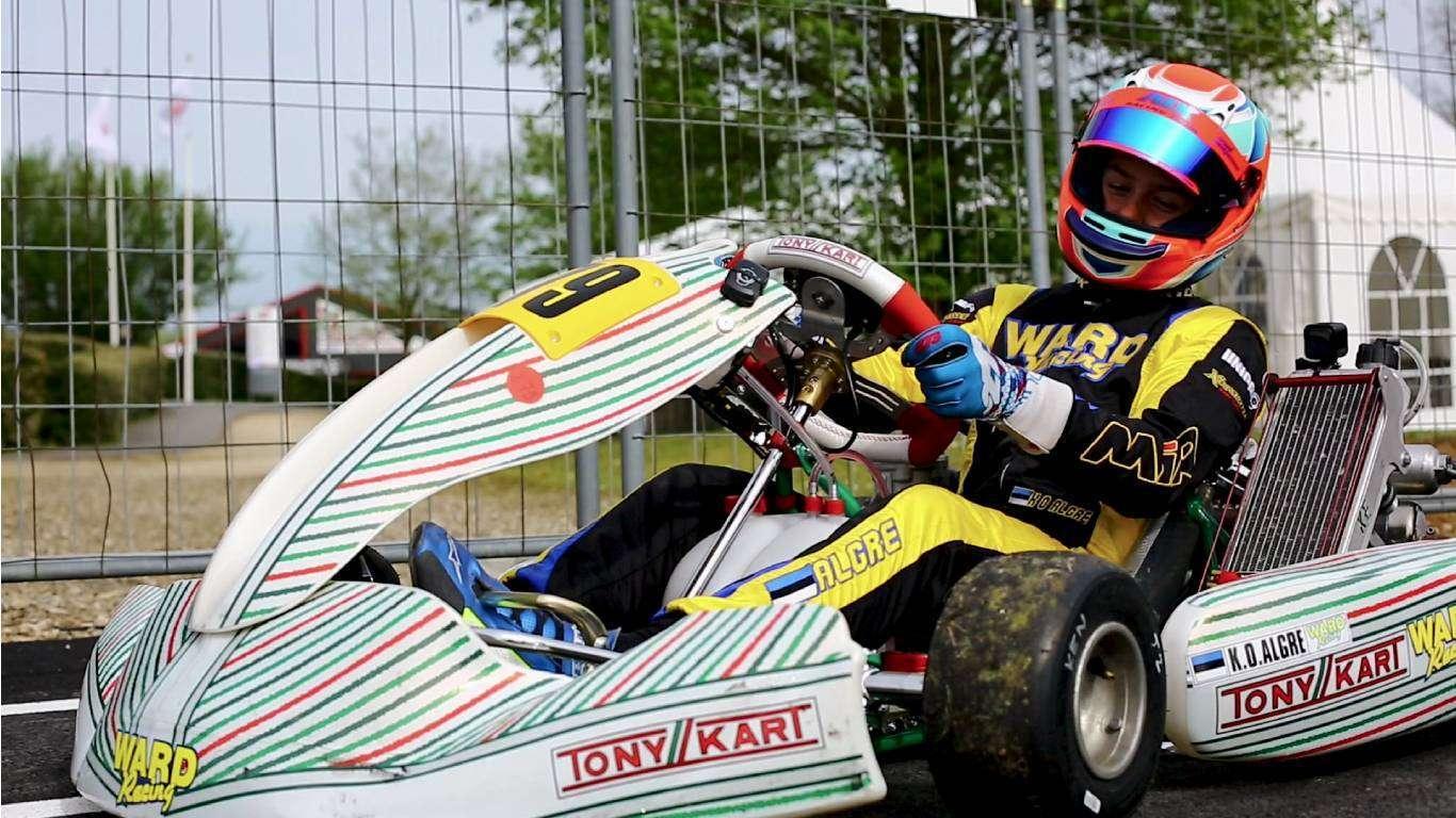 Karting, WC, Italija