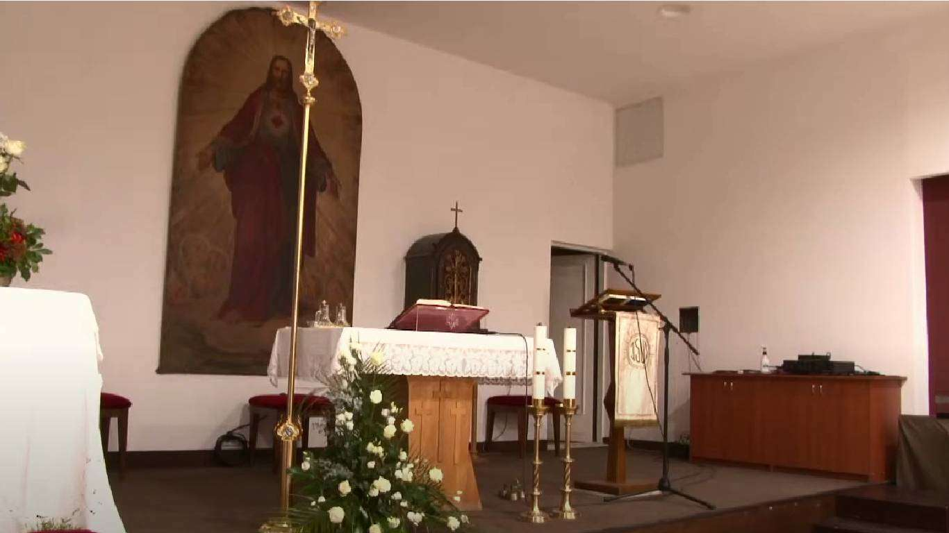 Sveta misa zornica, prijenos
