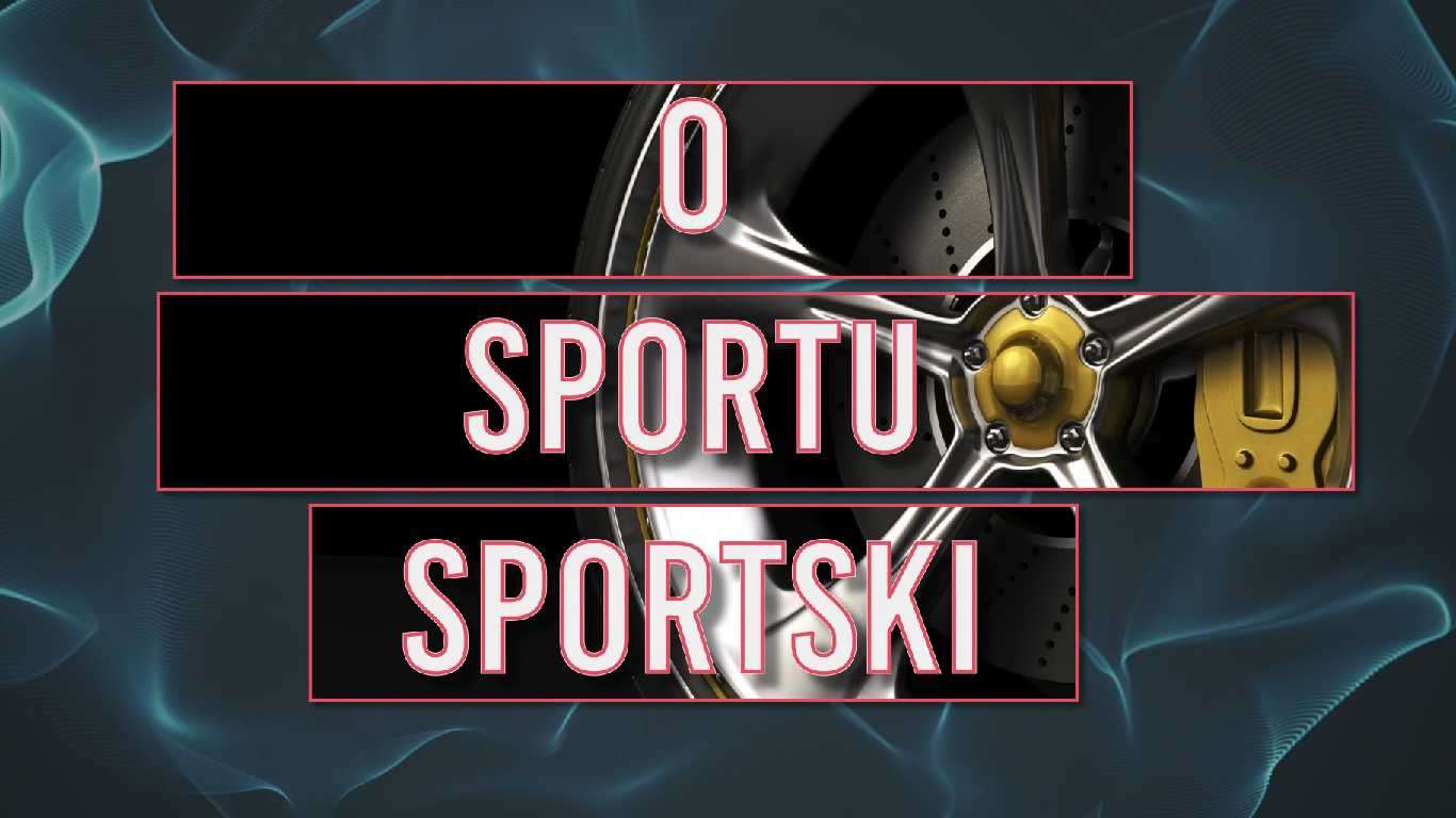 O sportu sportski