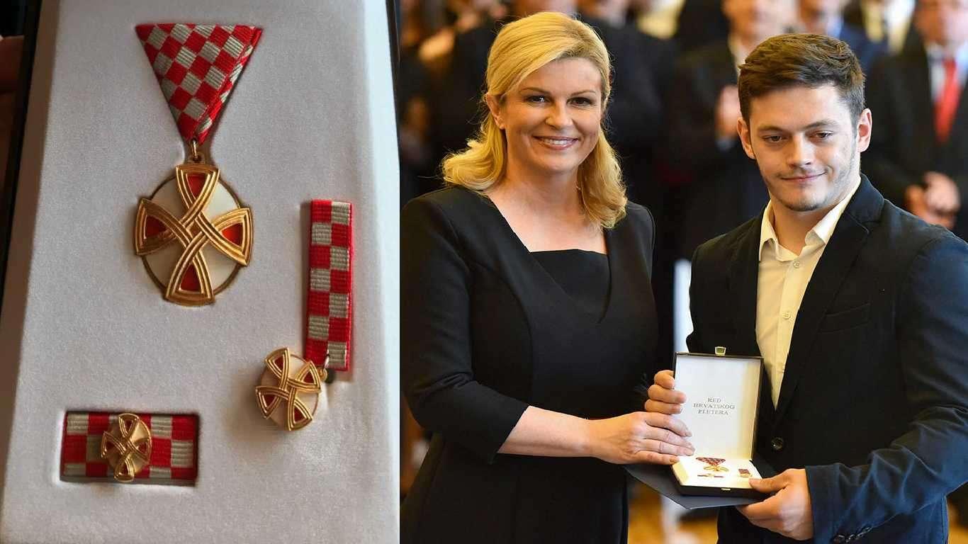 Srbiću i  Levačić državna odlikovanja