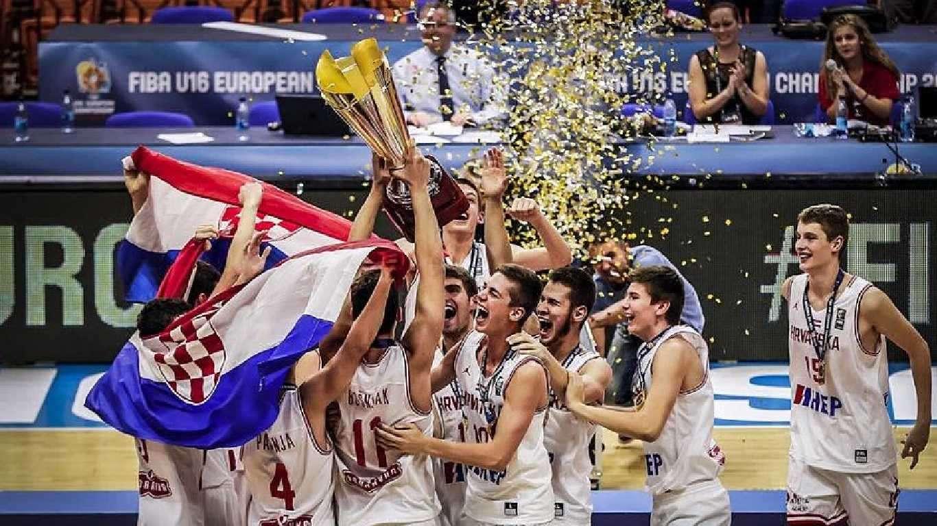 Hrvatskih košarkaši zlatni