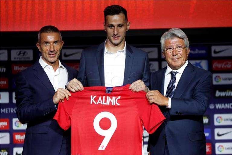 Kalinić predstavljen u Madridu
