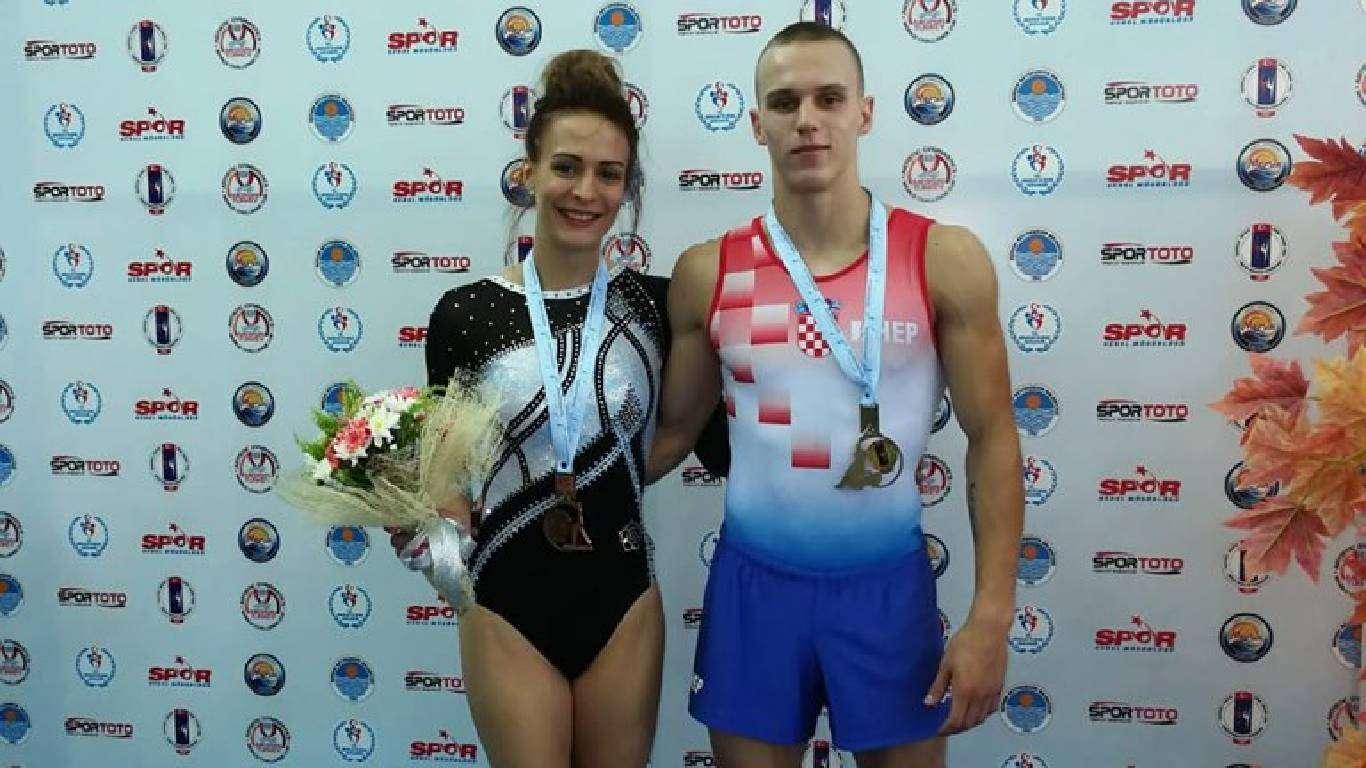 Medalje gimnastičara