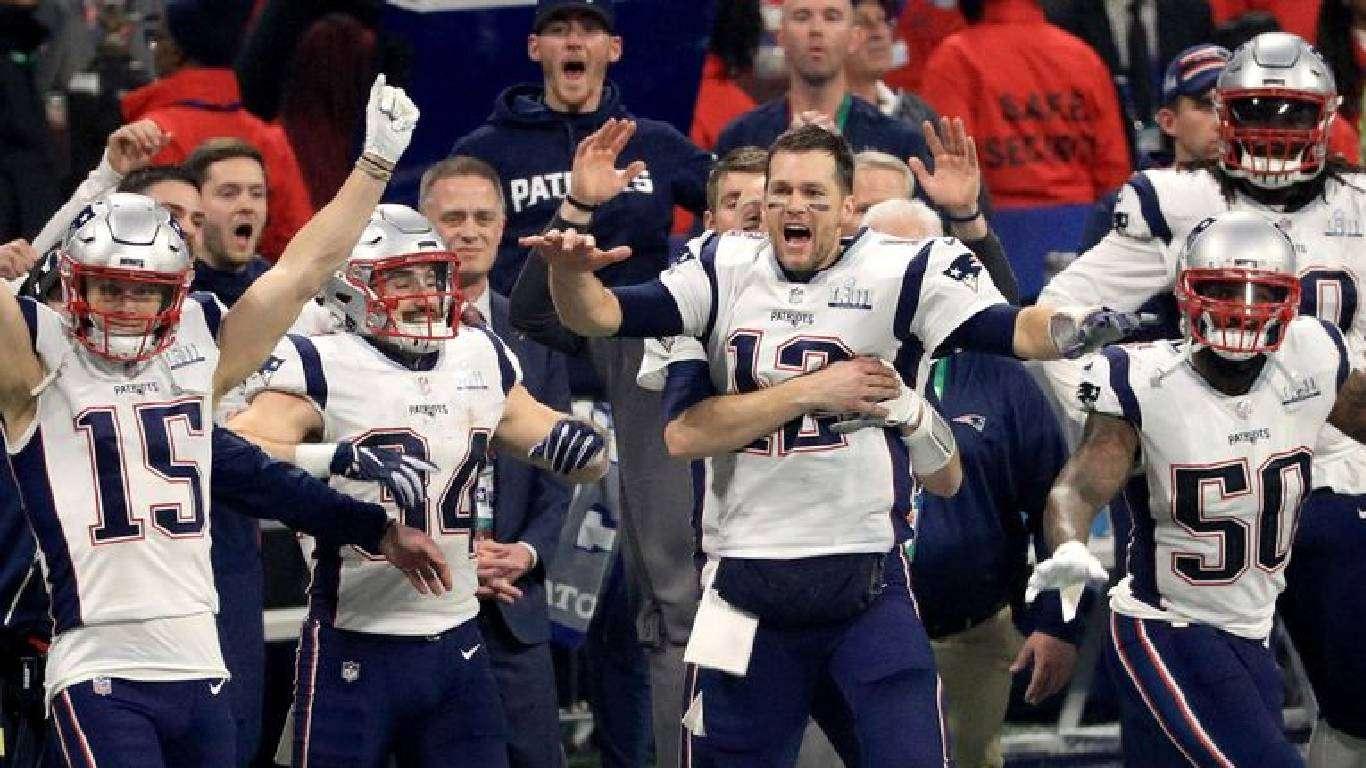 Šesti trofej Patriotsa