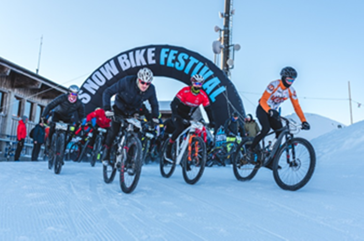 Snow bike festival, Gstaad