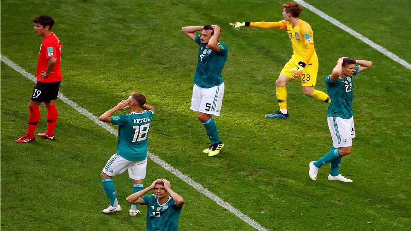Prvi put u povijesti Njemačka bez osmine finala