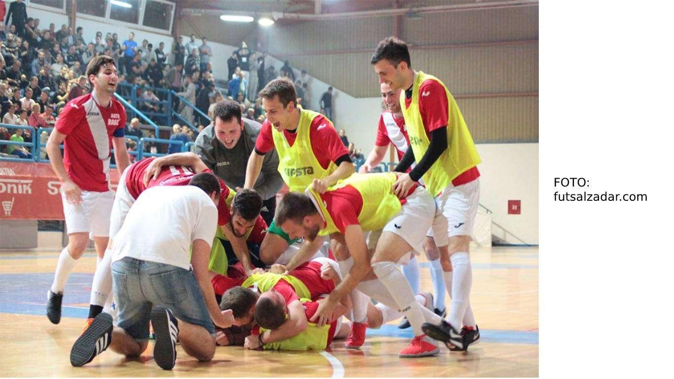 Futsal Zadar, finale