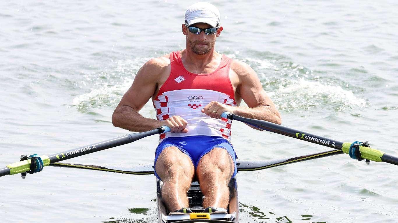 OI veslanje: Damir Martin u polufinalu