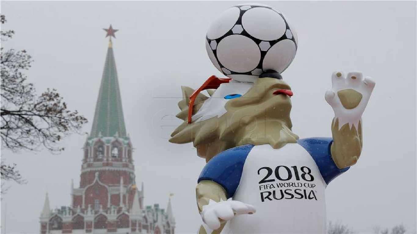 Vuk Zabivaka maskota SP-a u Rusiji