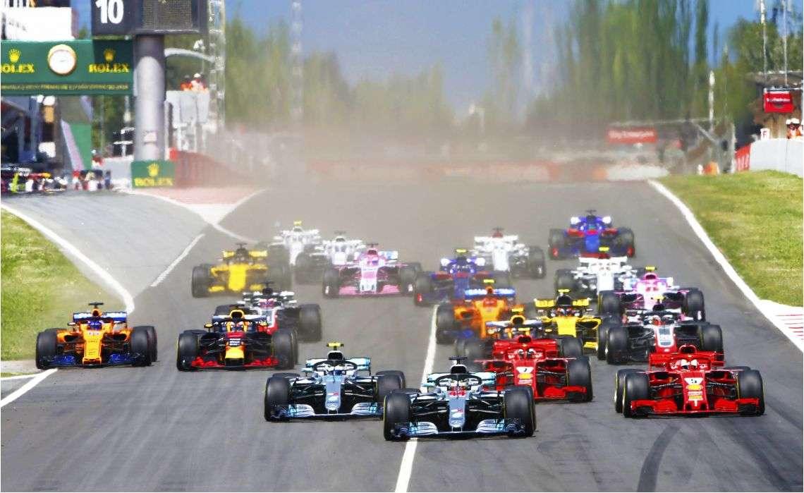 F1 predstavila kalendar
