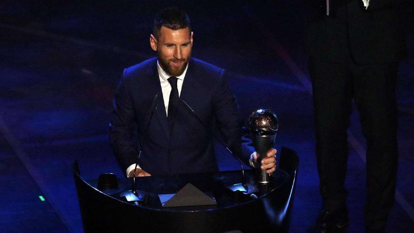 Messi igrač godine
