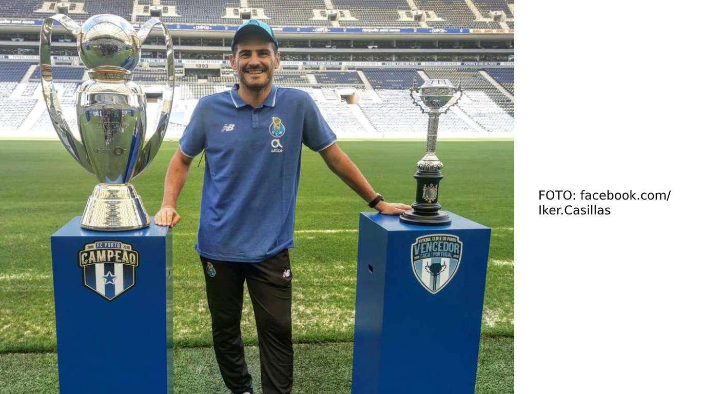 Službeni kraj Casillasa