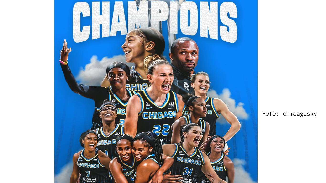Chicago Sky WNBA prvakinje